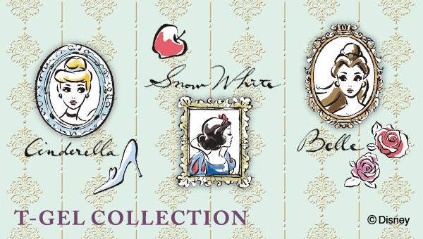 T-GEL COLLECTION プティット ネイルシール ディズニープリンセス フレーム 白雪姫が激安!500円!